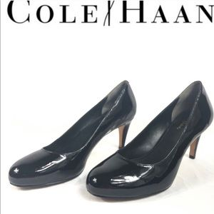 Cole Haan Nike air patent leather heels size 8AA